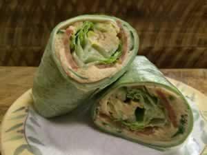 Hummus Vegetarian Wrap