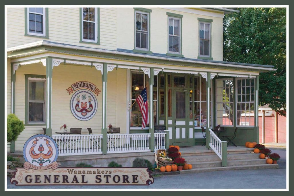 Wanamakers General Store Postcard