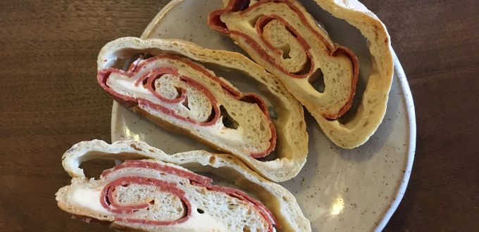 Roy's pepperoni bread