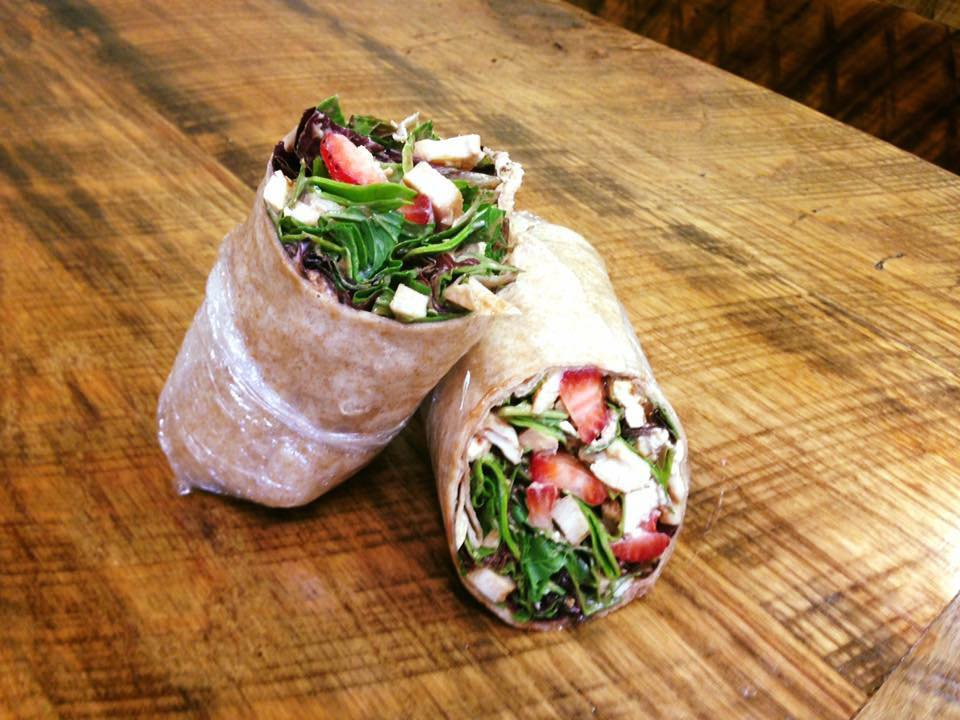Oh Strawberry Chicken Wrap, has it really been 10 years?